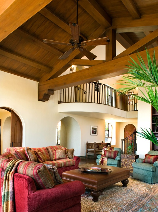mediterranean family room home ideas pinterest