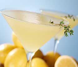 ... ounce fresh lime juice 2 sprigs lemon thyme or regular thyme