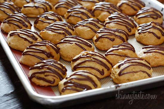 Pumpkin Spice Cookies with Chocolate Glaze - Low-fat pumpkin spice ...