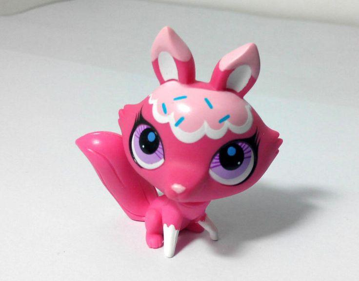 Littlest Pet Shop Pink Candy Cat