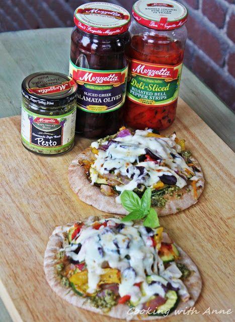 Mezzetta Pesto-Roasted Vegetable Sandwich @Mezzetta