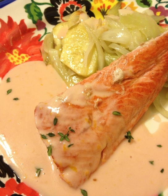Orange Beurre Blanc Sauce For Seafood Recipe — Dishmaps