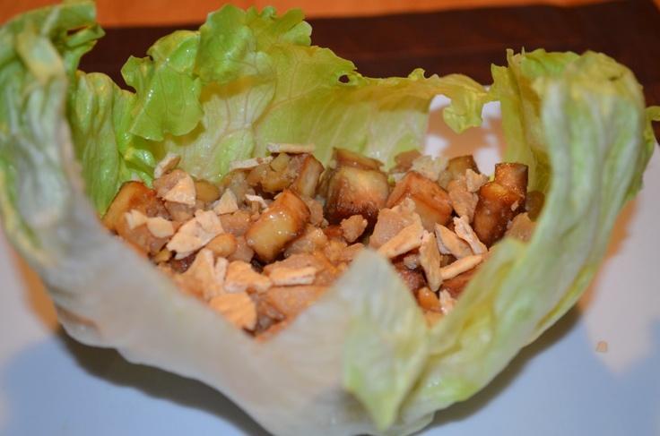 Vegetarian Lettuce Wraps | Pescatarian Vittles | Pinterest