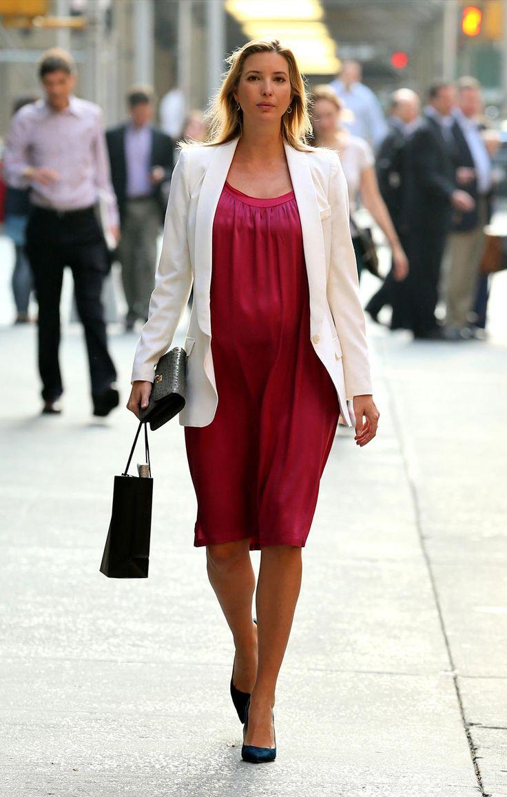 Ivanka Trump 39 S Super Stylish Pregnancy Celebrity Maternity Fashion