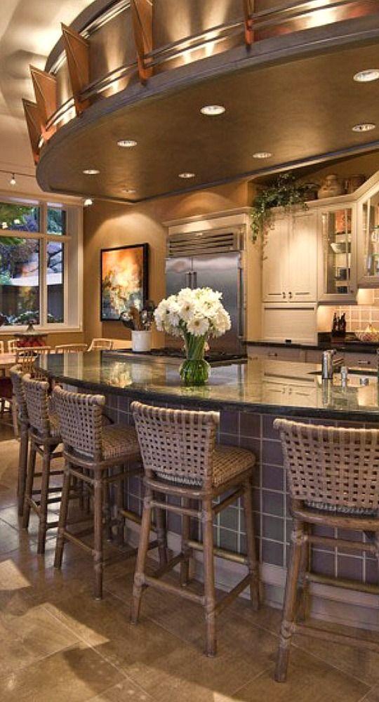 Large Kitchen Island Home Pinterest