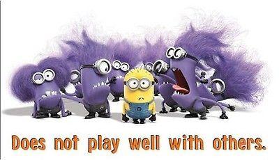Despicable Me 2 Purple Minion Shirt 5