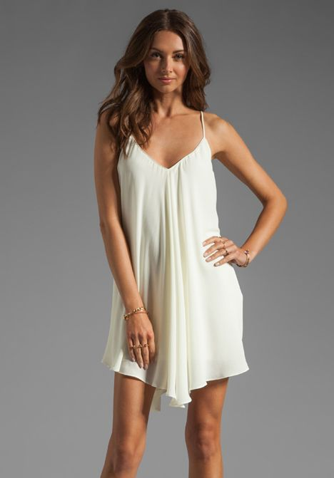 Backstage modern love dress in ivory must have