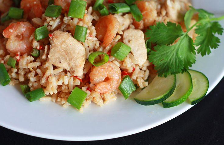 Nasi Goreng (Indonesian Fried Rice). daringgourmet.com