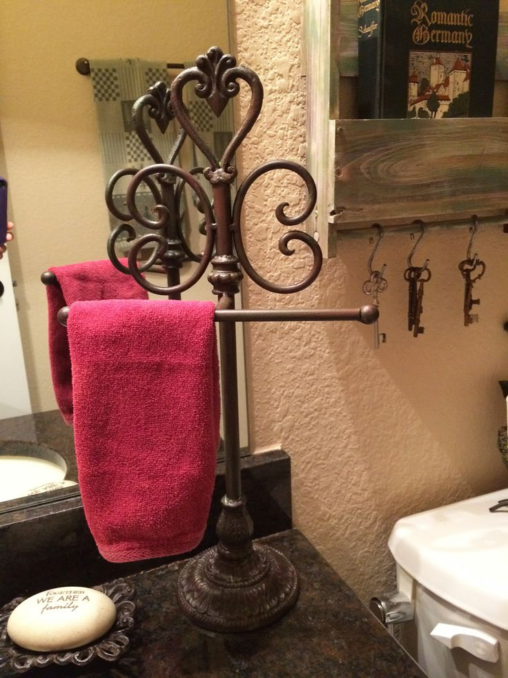 Pin by wendy windrich on bathroom redesign doors locks for Bathroom decor at hobby lobby