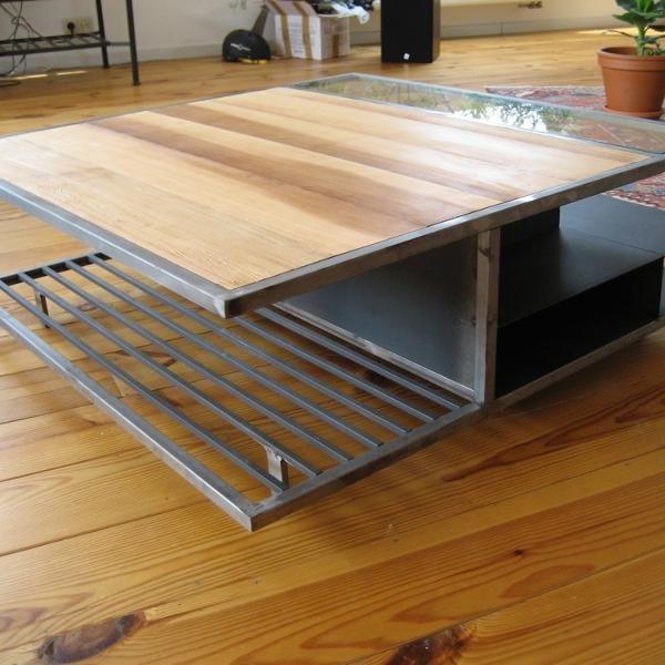 Construire une table basse bois for Construire une table en bois