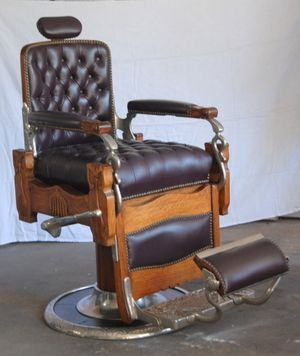 Koken Vintage Barber Chair VINTAGE BARBER CHAIRS Pinterest