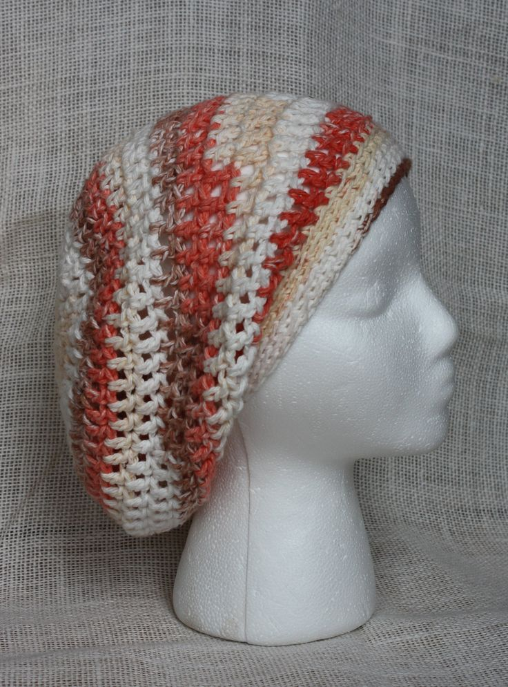 Easy Crochet Slouchy Hat Patterns : Simple Slouchy Hat EASY Crochet Pattern - Infant, Child ...