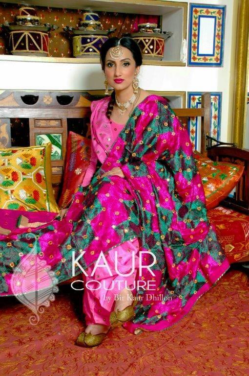 Punjabi Phulkari Suits