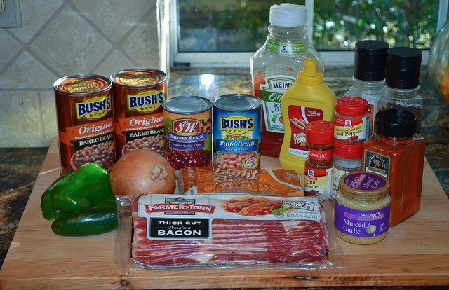 Spicy Baked Beans-002.jpg by From Valerie's Kitchen, via Flickr