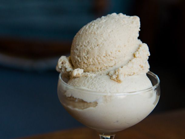 Brown Sugar Ice Cream-A slightly boozy, butterscotch-like ice cream ...
