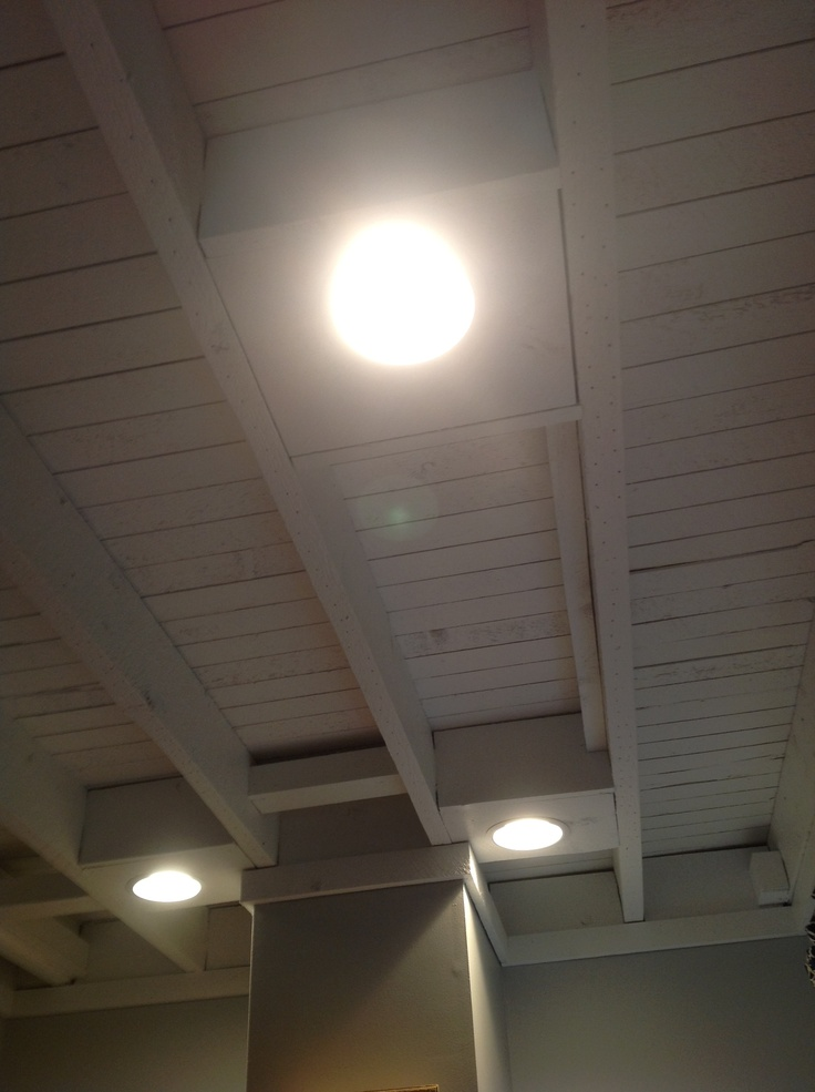 how to insulate open beam ceiling