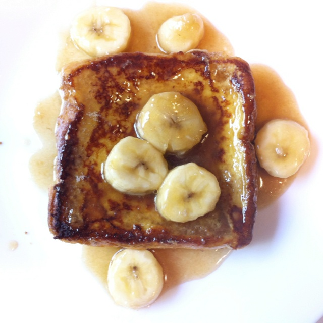 Bananas Foster French Toast | iPhone Photos | Pinterest