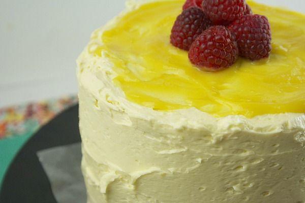 Lemon raspberry cake   ..in.my.kitchen..   Pinterest