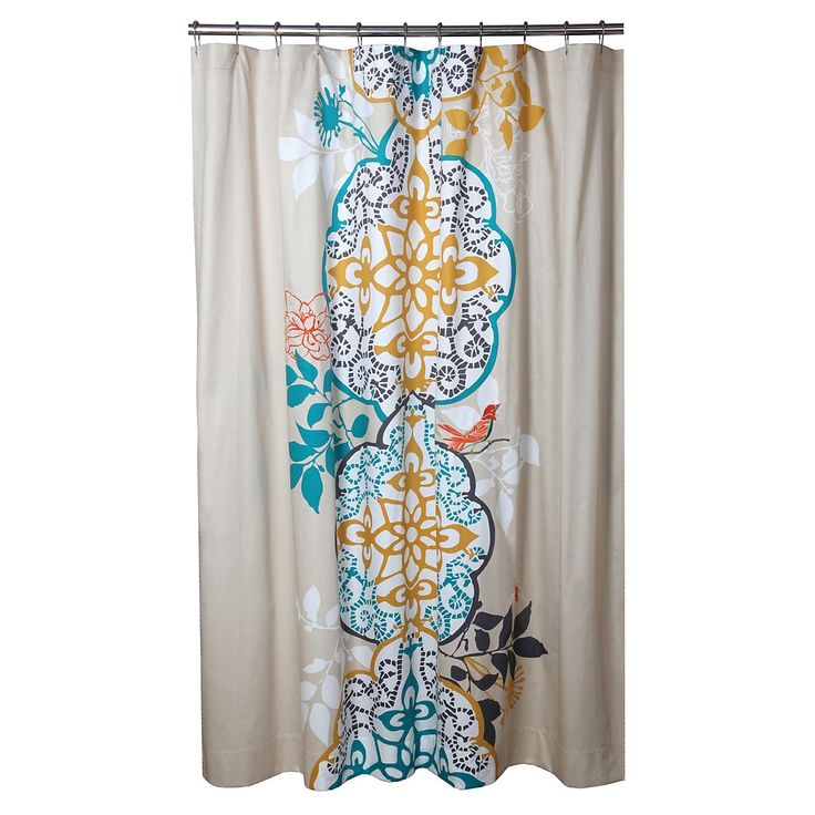 cute shower curtain palindrome home reno madness pinterest. Black Bedroom Furniture Sets. Home Design Ideas