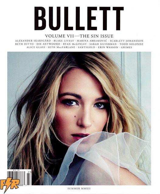 Bullett Vol. VII Summer 2012 #BlakeLively by David Slijper