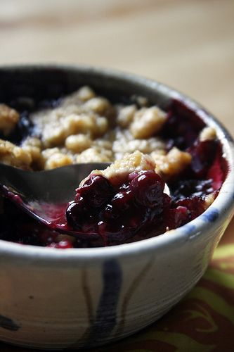 Fruit Crisp Topping | Desert Recipes | Pinterest