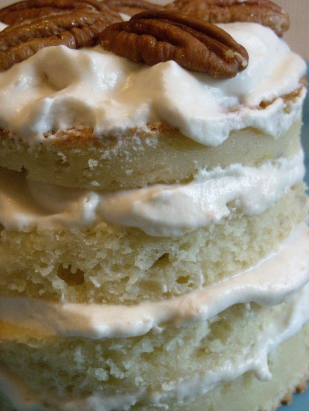 Banana Layer Cake with Caramel Cream by Nutmeg Nanny