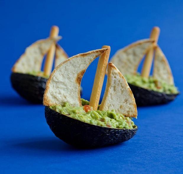 Avocado Art | Art you can eat | Pinterest