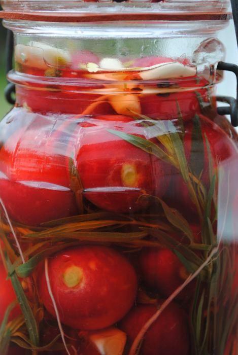 Pickled Radishes | veggies | Pinterest