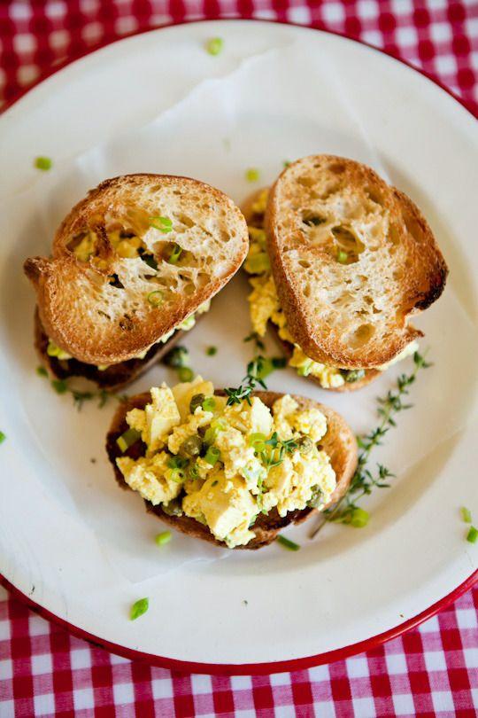 "Lemony Tofu ""Egg"" Salad | Recipe"