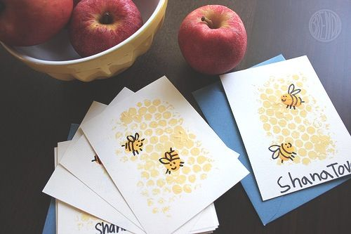 rosh hashanah cards business