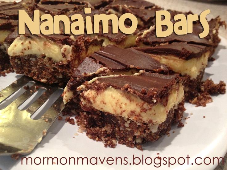 Nanaimo Bars = yummy!! | Esther's Cookies, Bars, and Brownies | Pinte ...