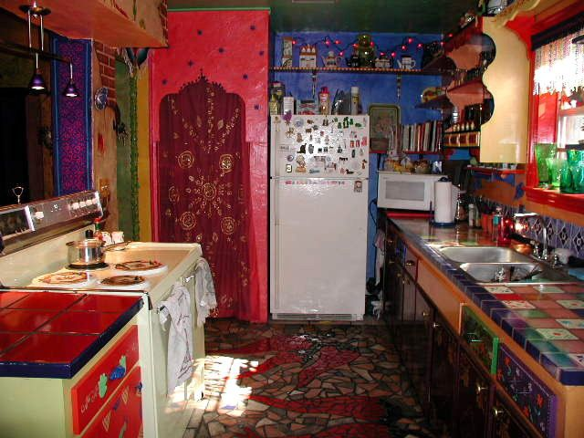 Colorful Bohemian Kitchen My Home AndFurniture Projects