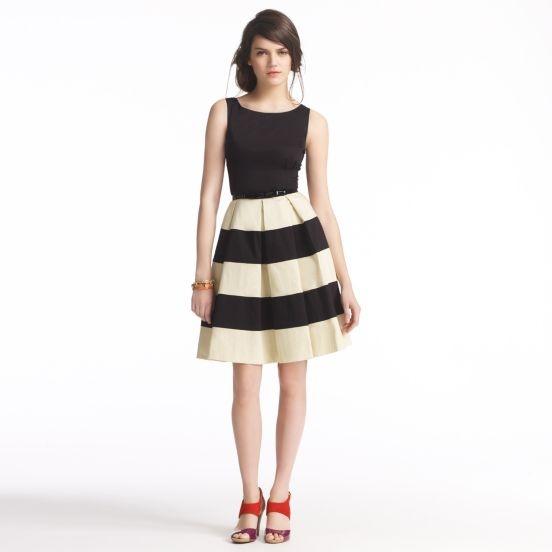 kate spade | striped celina dress