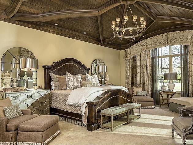 Master Bedroom In Dallas Tx Mansion Houzz Hgtv Pinterest