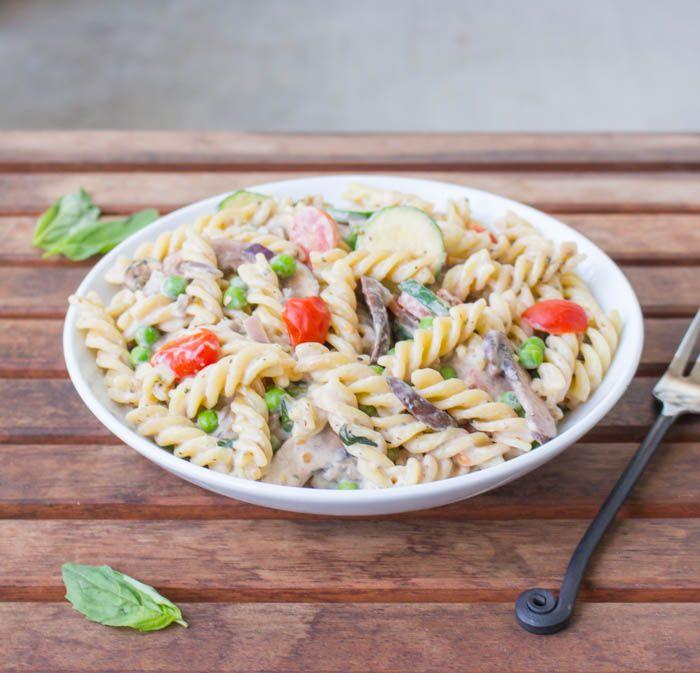 Vegan Pasta Primavera | Recipe