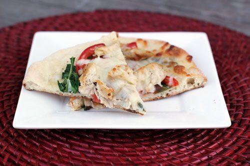Italian Chicken Panini Pizza | Recipe