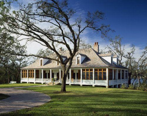 Southern Plantation Style Homes Pinterest