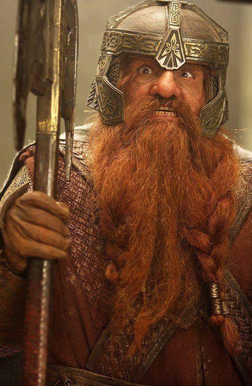 That is the best Gimli face ever
