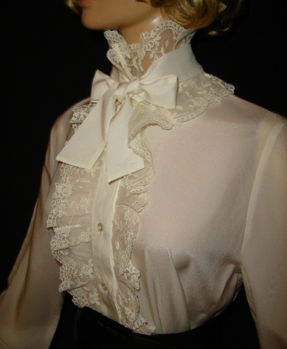 Frilly Victorian Blouse 109