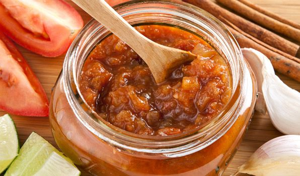 Tomato Chutney (instead of ketchup on burgers)- In the Kitchen with ...