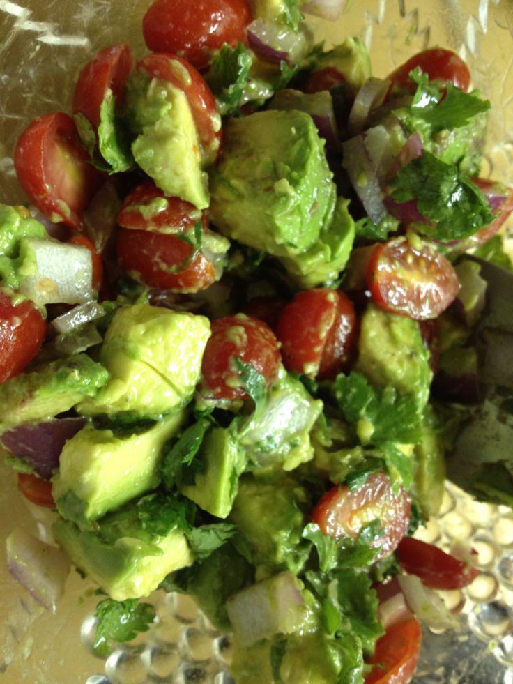 Guacamole Salad | recipes | Pinterest