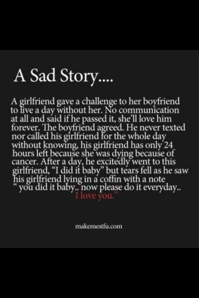 how to write a depressing story