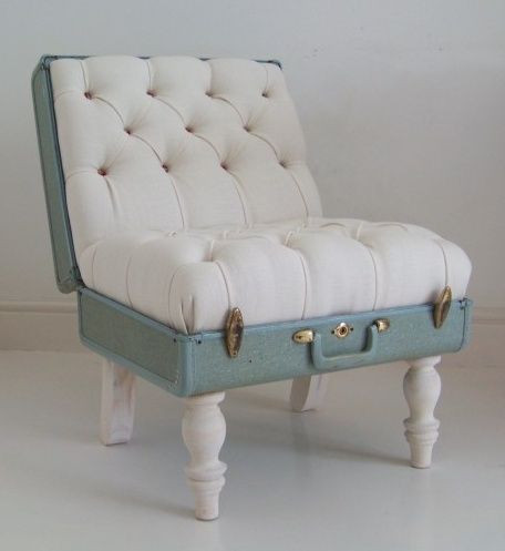 suitcase chair.