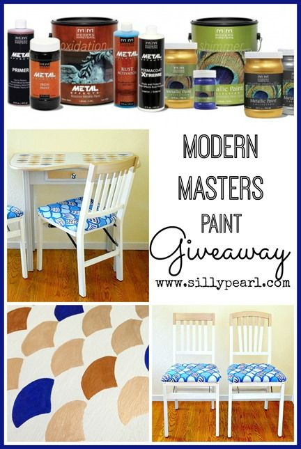 Modern Masters Paint Giveaway at The Silly Pearl