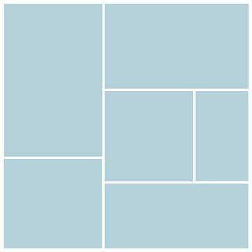 Six-Block Photo Collage