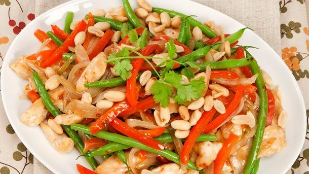 Kung Pao Chicken Recipe. | Yummy Recipes | Pinterest