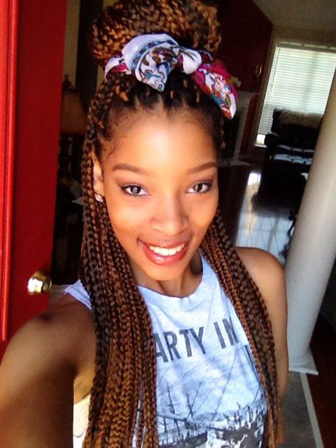 Crochet With Box Braids : Crochet box braids! Braids, Curls, Natural Hair Pinterest