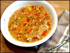 Utah Munchies: Tuscan Chicken Soup with Fall Veggies