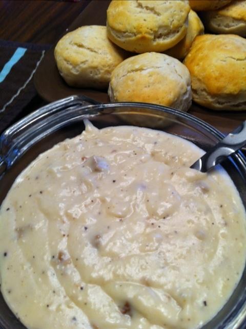 vegan biscuit gravy. | Eatables | Pinterest