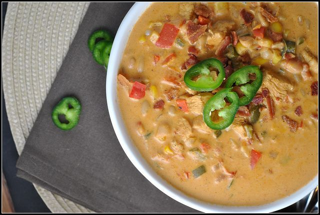 jalapeno popper chicken chili. | Hearty Soups, Stews, Chili and Beans ...